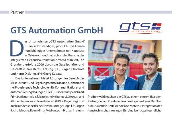 Firmenvorstellung GTS Automation im Loytec-Express – Magazin für Gebäudeautomation